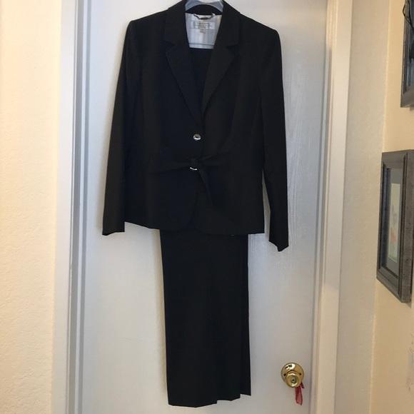 Tahari Dresses & Skirts - Tahari Navy Blue Pinstripe Suit
